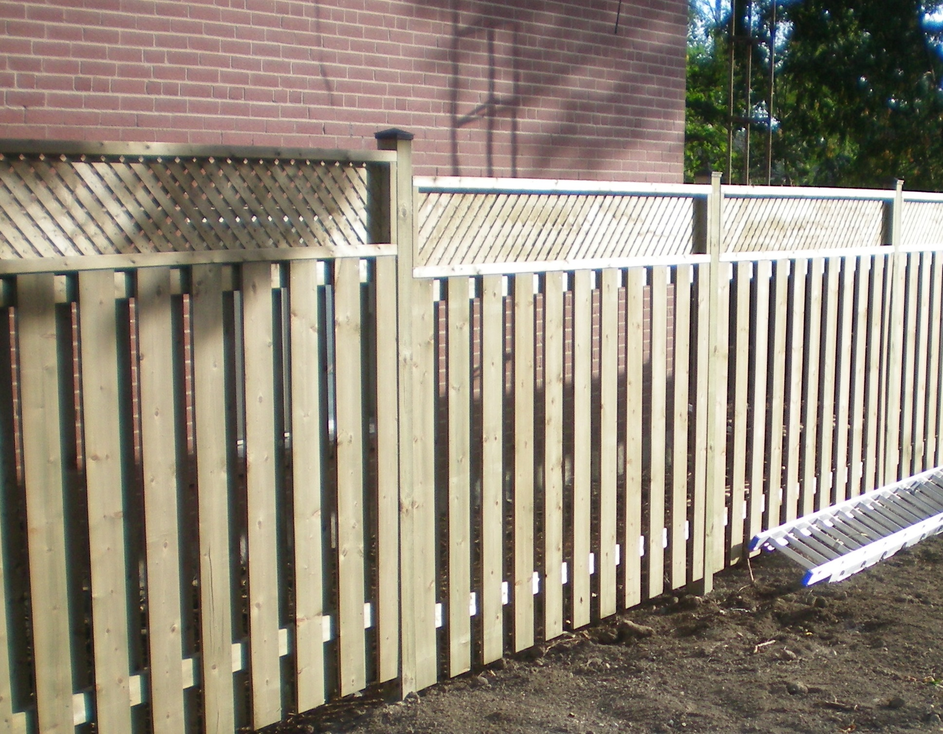 Wooden Fences Tropical Touch Landscaping